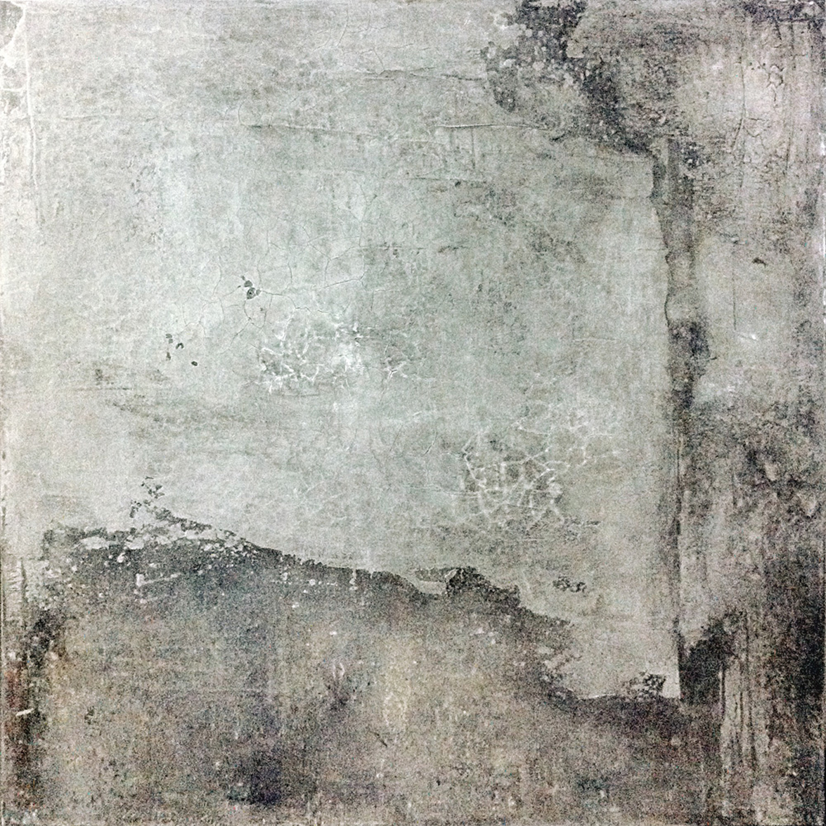 Berlin Auguststrasse, 2012, 01, 100 x 100 cm, Acrylic on Canvas